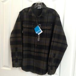 Columbia Deschutes River Heavyweight Flannel Shirt Men's Siz