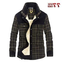QIQICHEN DropShipping Men Winter <font><b>Flannel</b></font>