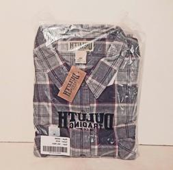 DULUTH TRADING CO. - Men's Burlyweight Flannel Shirt * Size