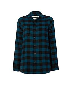Woolrich Women's Eco Rich Pemberton Boyfriend Flannel Shirt,