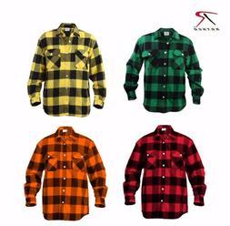 Rothco Extra Heavyweight Buffalo Plaid Flannel Shirts 4739,