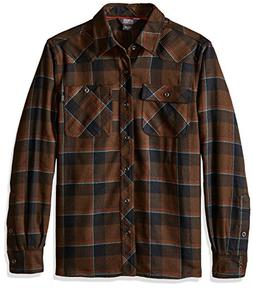 Outdoor Research Men's Feedback Flannel Shirt, Large - Earth