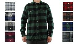 Field & Stream Men's Flannel Shirt Button Up Long Sleeve Dou