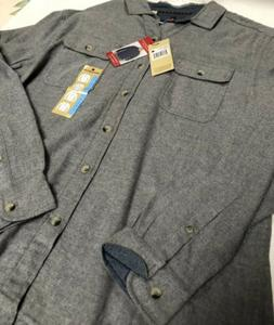 Woolrich Flannel Grey Size Large