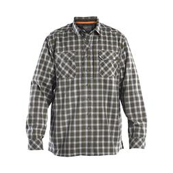 5.11 Men's Flannel Long Sleeve Shirt, X-Large, Volcanic