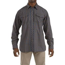 5.11 Men's Flannel Long Sleeve Shirt, Regatta, Small