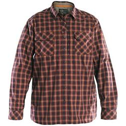 5.11 Men's Flannel Long Sleeve Shirt Ox Blood size XL by 5.1