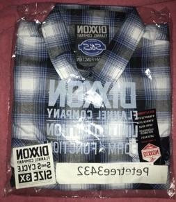 "DIXXON FLANNEL ""S & S CYCLE"" 3XL FLANNEL"