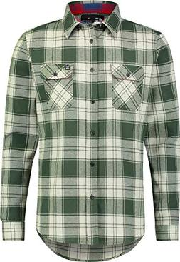 Jolt Gear Flannel Shirt for Men - Dry Fit Long Sleeve Button