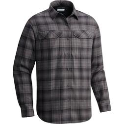 Columbia Flannel Shirt Men's Silver Ridge $65 Long Sleeve Pl