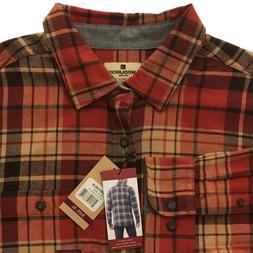 WOOLRICH Flannel Shirt NWT Augusta Long Sleeve Men's Sz XL