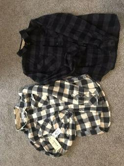 flannel shirts mens small
