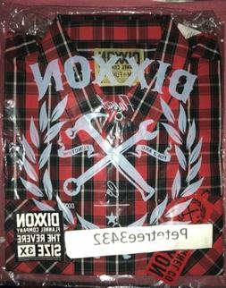 "DIXXON FLANNEL ""THE REVERE"" 3XL SHORT SLEEVE BAMBOO"