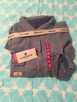 Flannel XL Long Sleeve Shirt Woolrich Mens