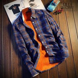 <font><b>Shirt</b></font> Men Plaid <font><b>Flannel</b></fo
