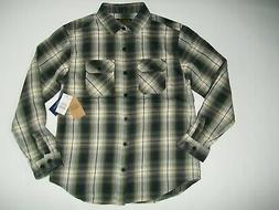 BURTON Forest Night Ludlow Plaid BRIGHTON Burly FLANNEL SHIR