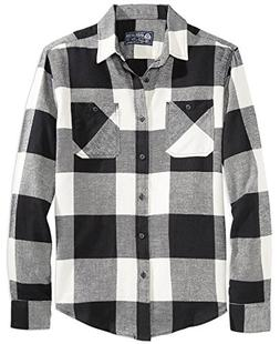 American Rag Frosty Flannel Shirt With Squares XL