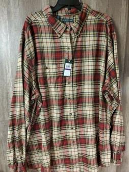 G.H. Bass & Co. Fireside Flannels Long Sleeve Button Down Re