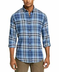 G.H. Bass & Co. Men's Fireside Flannel Button-Down Shirt, Sa