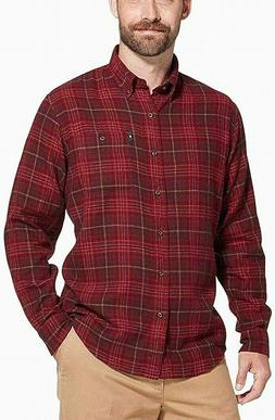 G.H. Bass & Co. Men's Fireside Flannel Button-Down Shirt, Rh