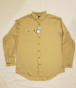 G.H. Bass & Co. Men's Fireside Flannels Long Sleeve Button D