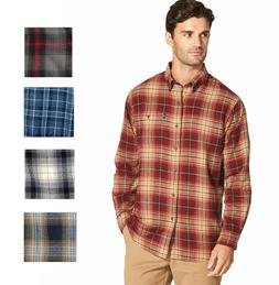G.H. Bass & Co. Men's Fireside Long-Sleeve Flannel Shirt