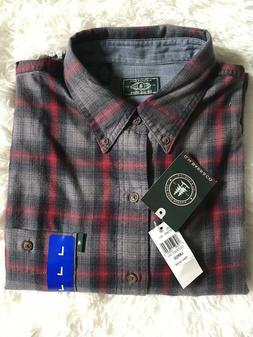 G. H. BASS & CO. Men's Fireside Flannel Shirt December Sky S