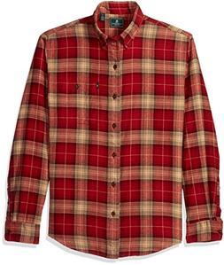 G.H. Bass & Co. Men's Fireside Flannel Long Sleeve Button Do