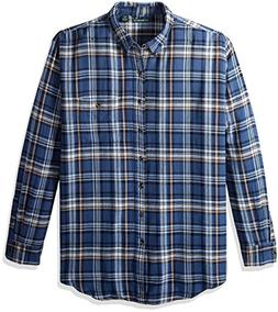 G.H. Bass & Co. Men's Big and Tall Fireside Flannel Plaid Lo
