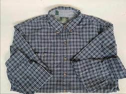 G.H. Bass & Co. Men's Flannel Long Sleeve Button Down Shirt