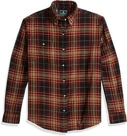 G.H. Bass & Co. Men's Fireside Flannel Long Sleeve Button Do