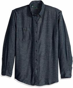 G.H. Bass & Co. Men's Fireside Flannels Long Sleeve Button D