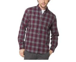 G. H. BASS & CO. Men's Fireside Flannel Shirt December Sky S