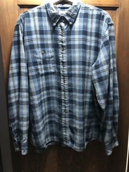 G. H. Bass & Co. Mens Flannel Shirt Size XXL