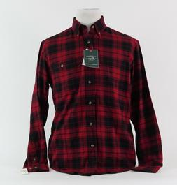 G.H. BASS & CO. NEW Men's Size M Fireside Flannel Plaid Butt