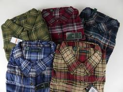 G.H. Bass & Co. of Maine Flannel Shirt $65 Long Sleeve Cotto