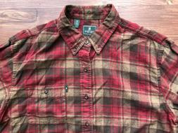 G.H. Bass Co. Fireside Mens Classic Fit Flannel Button Up Si