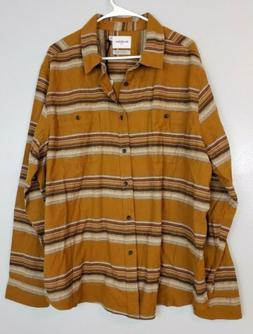 Goodfellow & Co. Men's Shirt Size 2XL Button Down Yellow  Pl