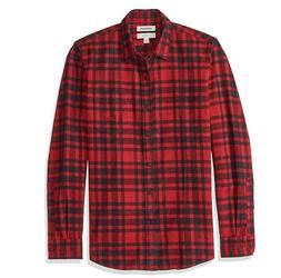 Goodthreads Men's Standard-Fit Long-Sleeve Brushed Flannel S
