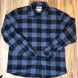 goodthreads mens long sleeve brushed flannel shirt