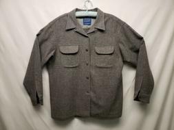 Pendleton Gray 100% wool flannel  The Original board shirt s