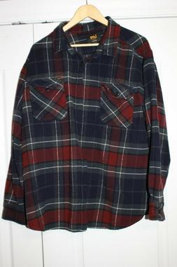 Wrangler Heavy duty flannel  L/S shirt XXL