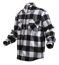 Rothco Heavy Weight Plaid Flannel Shirt, 2X/3X/4X/XX-Large,