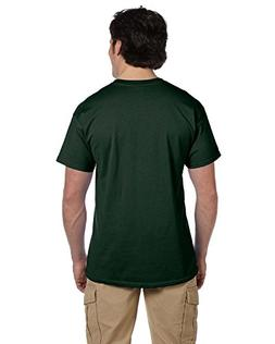 Jerzees Mens 5 oz. HiDENSI-T T-Shirt-Forest Green-M