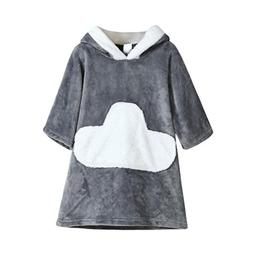 Vovotrade Infant Toddler Baby Hooded Girls Boys Clouds Winte