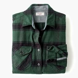 J.CREW Wallace & Barnes HEAVYWEIGHT FLANNEL SHIRT K2560 XS M