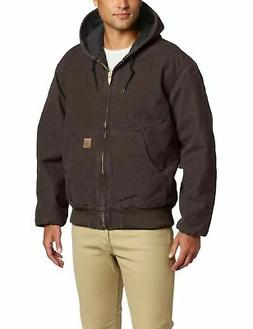 Carhartt J130 Big & Tall Quilted Flannel Lined Sandstone Act