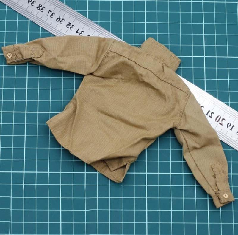 1/6 II U.<font><b>S</b></font>. Army Khaki Male Clothing model action figure