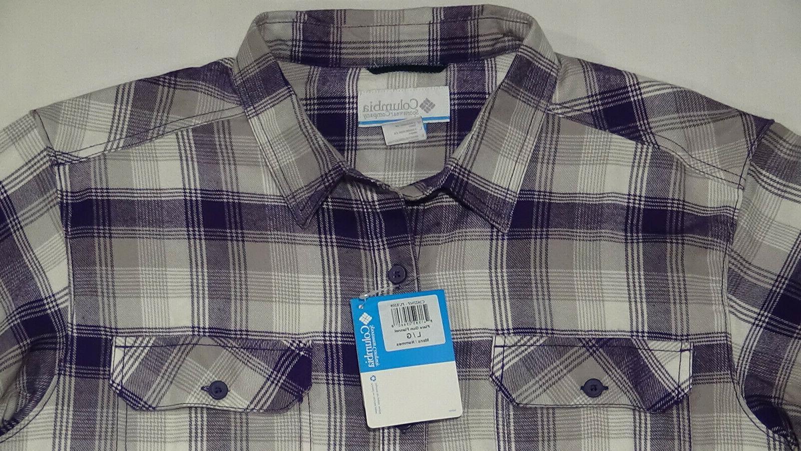 Columbia Cotton Button Shirt. Men's Large. $60