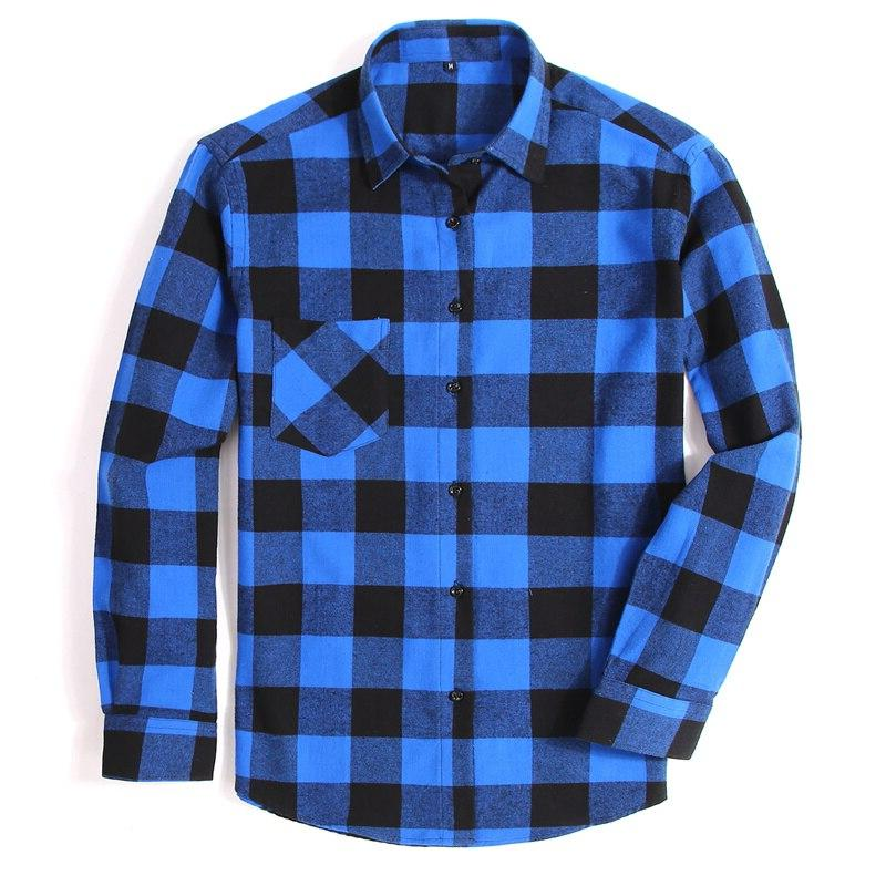 100% <font><b>Flannel</b></font> Plaid Spring Casual Soft Comfortable <font><b>4XL</b></font>